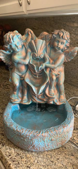 Tabletop angel fountain for Sale in Simi Valley, CA