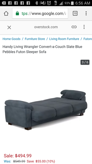 Brand new futon sofa sleeper actual photo is shown please look at all pictures for Sale in NC, US