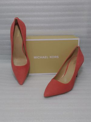 Michael Kors heels. Size 10 women's shoe. Suede. Brand new in box for Sale in Portsmouth, VA