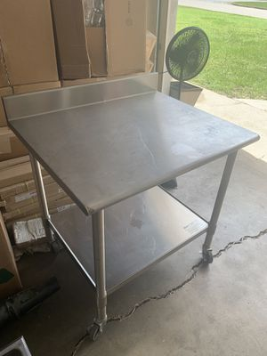 Eagle Stainless Steel Table 30x36 for Sale in Longview, TX