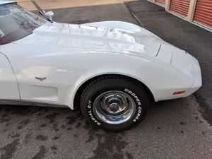 1977 Chevy Corvette, 350/ L48/ Automatic, PW. PS, PB, Tilt Telescopic Steering, Cruise and A/C. This car has under 25,000 miles, sit on new tires. for Sale in North Olmsted, OH