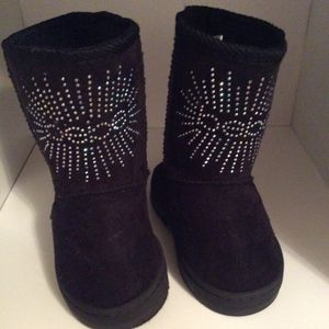 Bebe girl black boots size 6 for Sale in Colton, CA