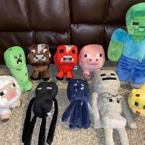 Minecraft Plush Toys for Sale in Billerica, MA
