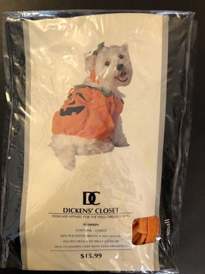 Dog Pumpkin Halloween Costume for Sale in Newark, CA