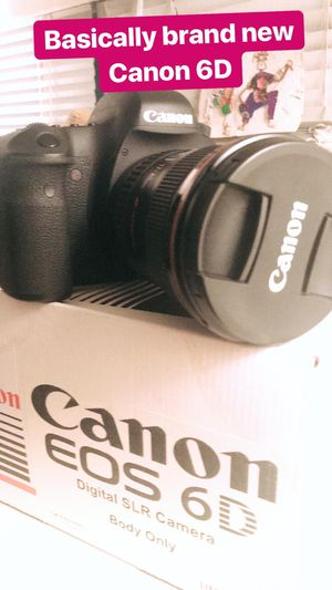 Canon 6D DSLR with lenses Excellent Condition for Sale in Marina del Rey, CA