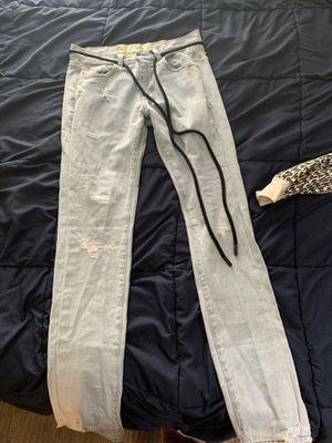 Off white temperature jeans for Sale in Boynton Beach, FL