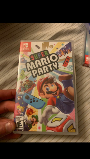Nintendo switch .. super Mario party for Sale in Rancho Cucamonga, CA