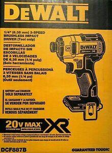 1/4 3 speed Dewalt Brushless Impact Driver XR for Sale in Phoenix, AZ