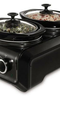 Crock-Pot Hookup Double Oval 1-quart for Sale in Aurora,  CO