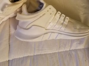 Adidas all white shoes for Sale in Grand Terrace, CA