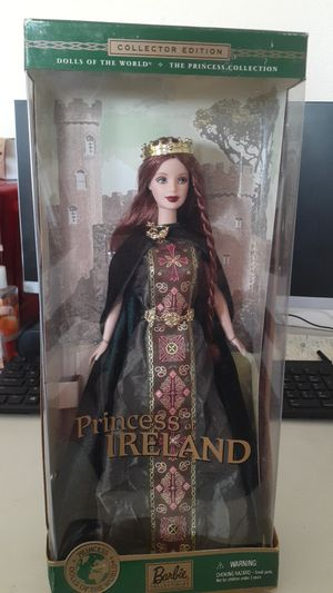 NEW IN BOX COLLECTOR EDITION PRINCESS IRELAND BARBIE MATTEL for Sale in Kissimmee, FL