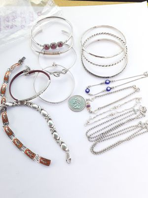 $10-$15 each ! All 925 sterling silver bracelets for Sale in Tacoma, WA