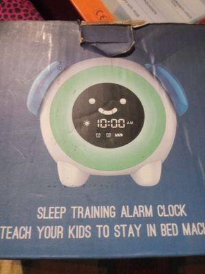 Kids training clock for Sale in Saint Albans, WV