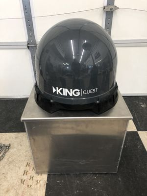 King Dome Quest portable Satellite dish for RV or Trailer for Sale in Las Vegas, NV