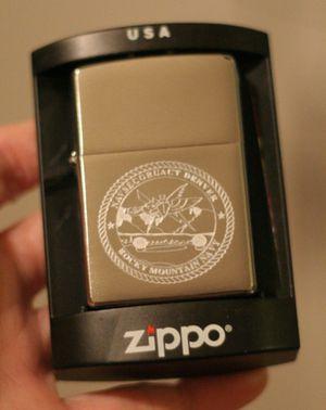 Zippo Navsecgruact Denver Rocky Mountain Navy New w/ Case Unstruck USA for Sale in Hicksville, NY