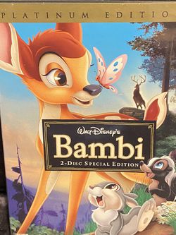 Walt Disney's Bambi Platinum Edition Disc 2 for Sale in Kissimmee,  FL