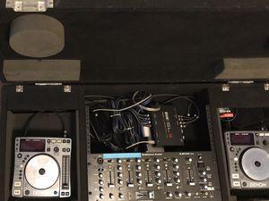 DJ equipment, Denon, American audio, Rane Serato SL3, Odyssey coffin case. for Sale in San Diego, CA