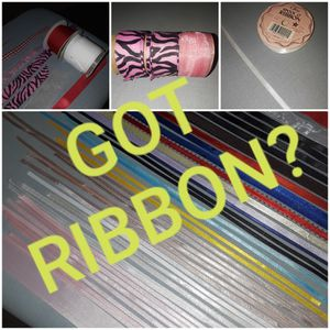 ASSORTED SATIN AND GROSGRAIN RIBBONS (over 50 pieces) for Sale in Henderson, NV