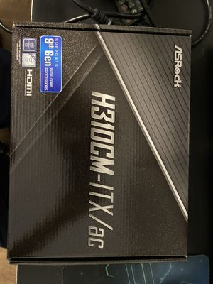 Asrock H310CM-ITX/ac Intel Motherboard for Sale in Caldwell, ID