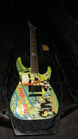 Bela Lugosi limited edition Tales fro the Grave LTD electric guitar for Sale in Knoxville, TN