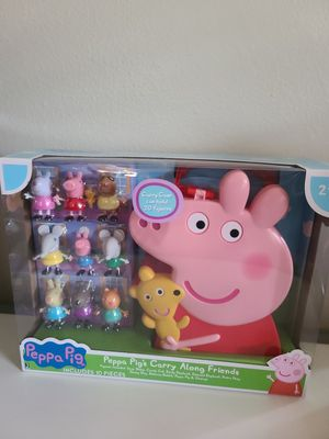New peppa pig carry case for Sale in San Leon, TX