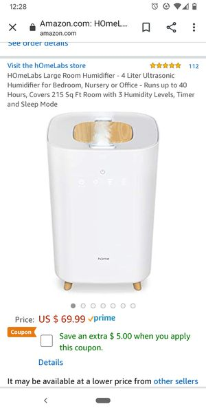 Humidifier for Sale in Stone Mountain, GA