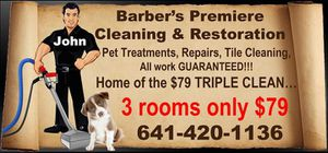 Professional steam cleaning for Sale in Mason City, IA