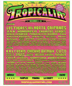 Tropicalia Saturday Ticket for Sale in Long Beach, CA