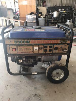 5500 watt generator for Sale in Marion, TX