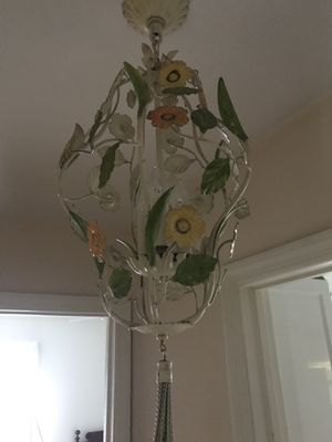 Beautiful 3 light chandelier for Sale in Plainview, NY