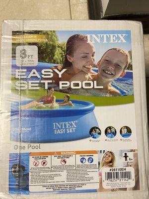 Intex 8x30 easy set Pool for Sale in Hoffman Estates, IL