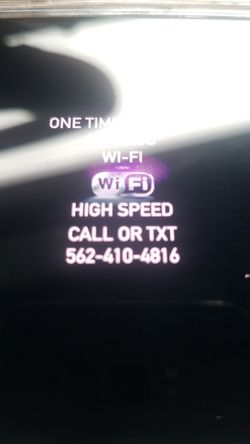 Super high speed. In great excellent condition like new Modem with Internet and Router for wifi open box in great condition Wi-fi for Sale in Compton,  CA