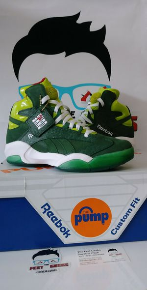 Reebok Pump Shaq Attaq OG Money Green Mens Shoes Size 9 & 10.5 New With Box for Sale in Cleveland, OH