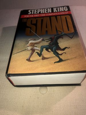 The Stand Hardcover Book by Stephen King For the First Time Complete and Uncut for Sale in Frisco, TX