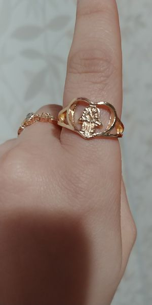 Gold colour ring size 7 for Sale in Victorville, CA