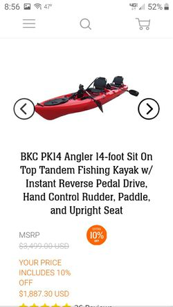 14ft kayak- Brooklyn Kayak Company for Sale in Hicksville,  NY