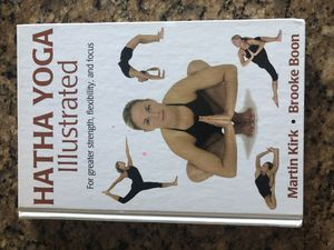 Hatha yoga illustrated (hardcover) for Sale in Fontana, CA