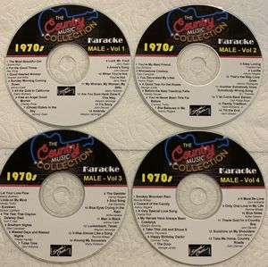Karaoke - Best Country Music of the 1970s for Sale in San Antonio, TX