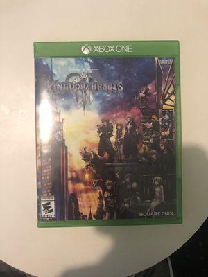 Kingdom Hearts 3 (XBOX ONE) for Sale in Atlanta, GA