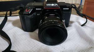 Minolta 5000 maxxum for Sale in Splendora, TX