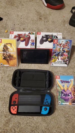 Nintendo switch console bundle for Sale in Akron, OH