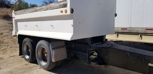DUMP PUP TRAILER LONG TUNG AIR BRAKES for Sale in Lakeside, CA