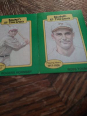 Rogers hornsby ross youngs for Sale in Wichita, KS