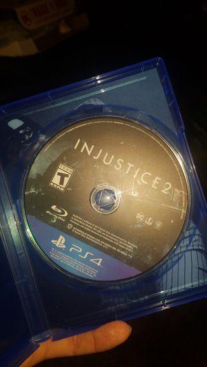Injustice ps4 for Sale in Ellensburg, WA