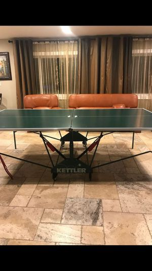 Retractable Kettler Ping Pong Table for Sale in Glendale, CA