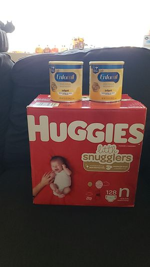 diapers, milk for Sale in Hesperia, CA