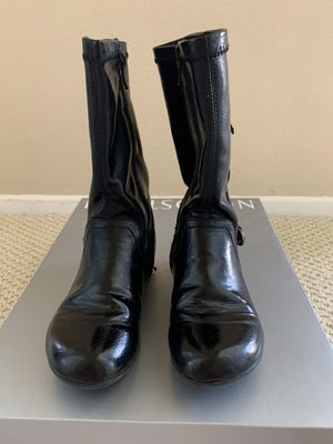 Nordstrom kids black patent boots - size 12M for Sale in Arcadia, CA