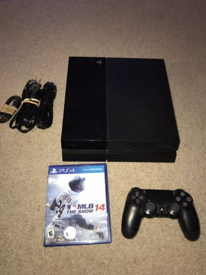 PlayStation 4 500GB PS4 console - Great Condition for Sale in Sunnyvale, CA