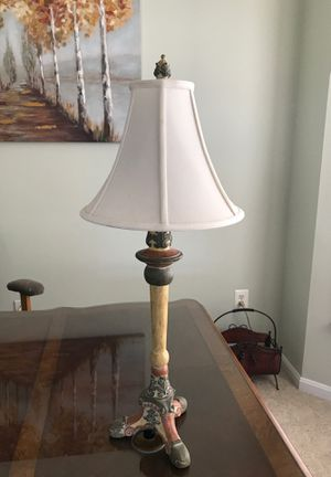 Pair of identical table lamps for Sale in Ashburn, VA