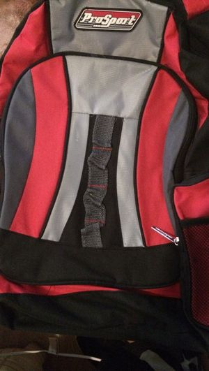 Red/Gray Backpack for Sale in Worcester, MA